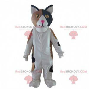 Fato tricolor de gato, fantasia de gato fofo - Redbrokoly.com