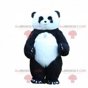 Mascote panda inflável, fantasia de 3 metros de altura -