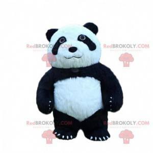 Fato de panda grande inflável, fantasia de 3 metros de altura -