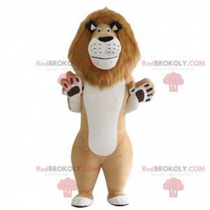Kostým Alexe, slavného lva v kresleném Madagaskaru -