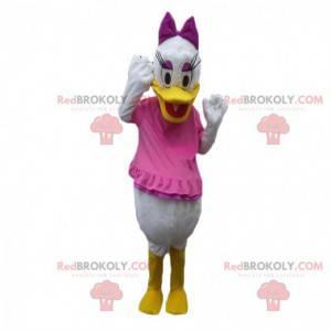 Kostuum van Daisy, beroemde eend, vriendin van Donald Duck -