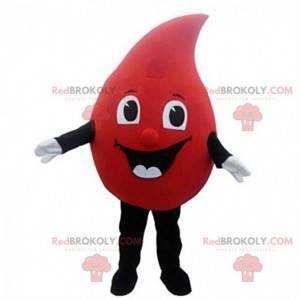 Costume da goccia di sangue gigante, costume da donazione di