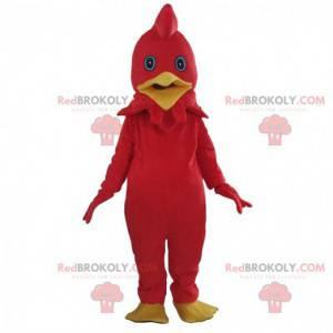 Disfraz de gallo rojo, disfraz de pollo colorido -