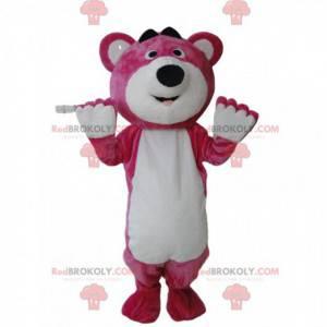 Kostüm von Lotso, dem bösen rosa Bären in Toy Story 3 -