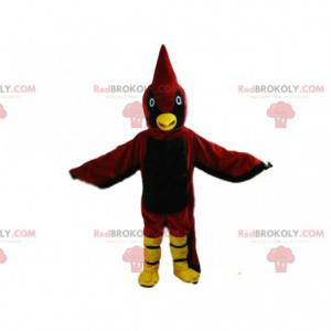Fantasia de pássaro vermelho, fantasia de grande águia -