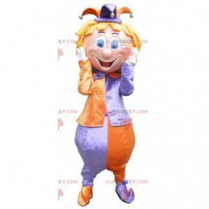 Král šašek klaun maskot - Redbrokoly.com