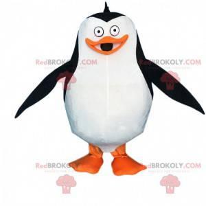 Costume da pinguino famoso dei cartoni animati del Madagascar -