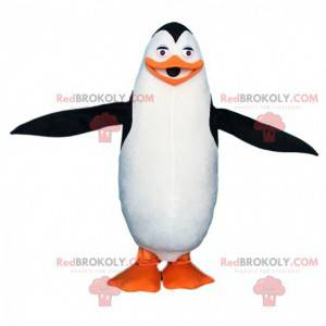 Fantasia de pinguim de desenho animado famoso de Madagascar -