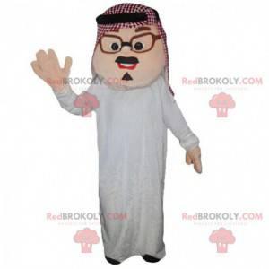 Traje de hombre oriental, mascota del Magreb, musulmán -