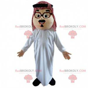 Orientalisches Männerkostüm, Maghreb-Maskottchen, Muslim -