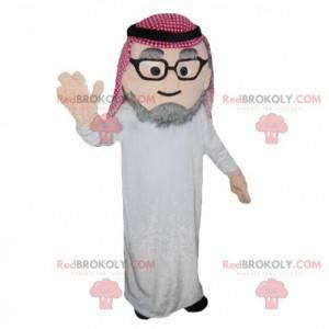 Kostým starého muže z Orientu, kostým Tuareg - Redbrokoly.com