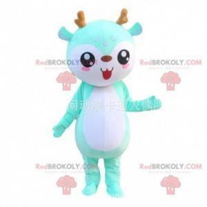 Little deer costume, green deer costume - Redbrokoly.com