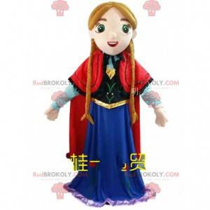 """Mascotte prinses Anna in """"The Snow Queen"""" - Redbrokoly.com"""