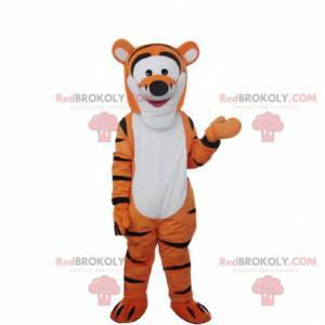 Kostume af Tigger, den berømte tigerven af Winnie the Pooh -