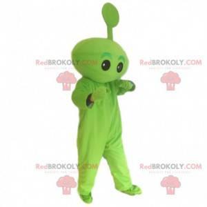 Disfraz de pequeño monstruo verde, disfraz de alien -