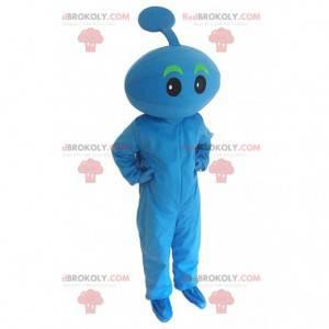Disfraz de pequeño monstruo azul, disfraz de alien -
