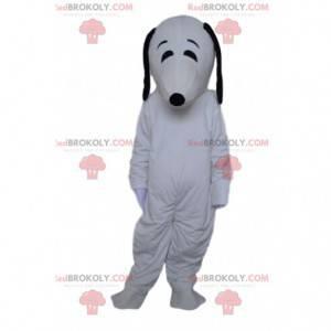 Snoopy, el famoso disfraz de perro de dibujos animados -