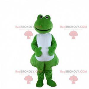Disfraz de rana verde y blanca, disfraz de rana - Redbrokoly.com