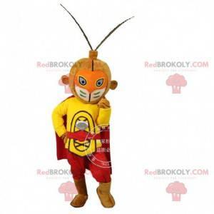 Mascota de Sun Wukong, rey mono de la literatura china -