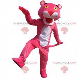 Fantasia de pantera rosa de desenho animado - Redbrokoly.com