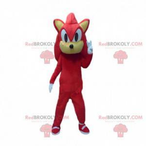 Maskot Knuckles, slavná postava v Sonic - Redbrokoly.com
