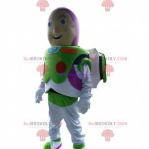 Maskot Buzz Lightyear, slavná postava z Příběhu hraček -