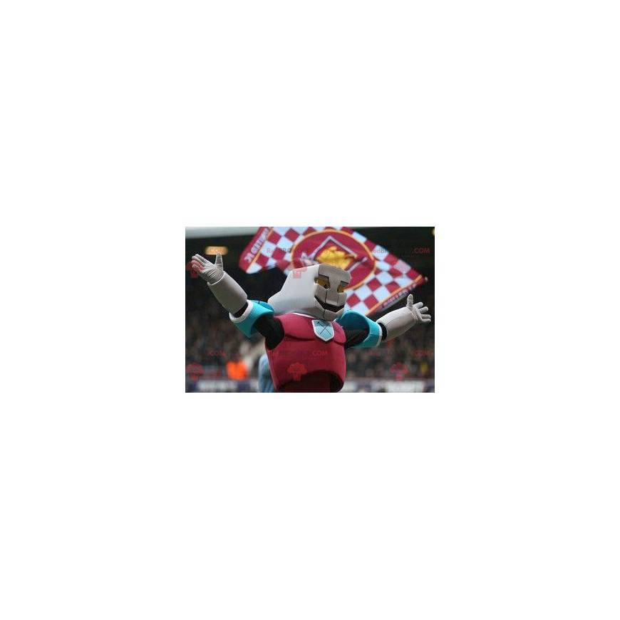 Superhrdina barevný robot maskot - Redbrokoly.com