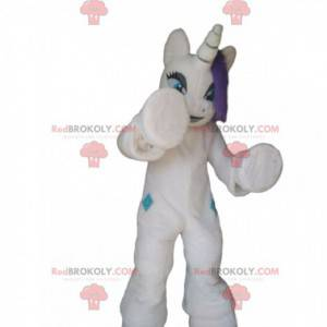 Disfraz de unicornio blanco gigante, disfraz de unicornio -
