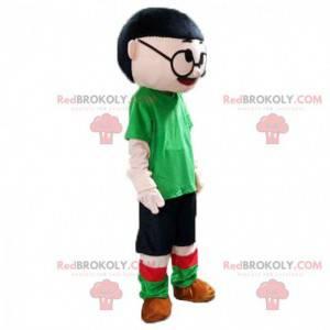 Chica mascota, mujer asiática, traje chino - Redbrokoly.com