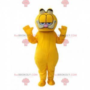 Traje Garfield, famoso gato laranja dos desenhos animados -