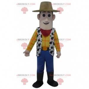Kostume af Woody, den berømte sherif fra Toy Story-tegneserien