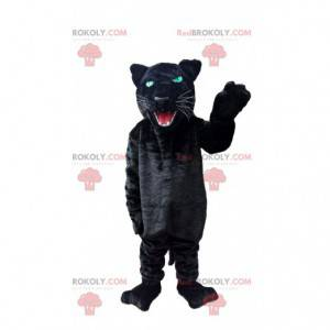 Schwarzes Pantherkostüm, schwarzes Katzenkostüm - Redbrokoly.com