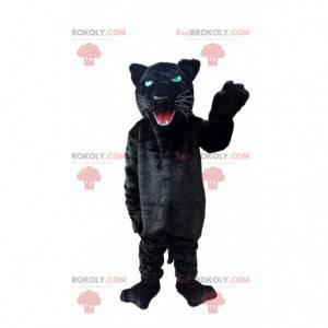 Zwart panterkostuum, zwart katachtig kostuum - Redbrokoly.com