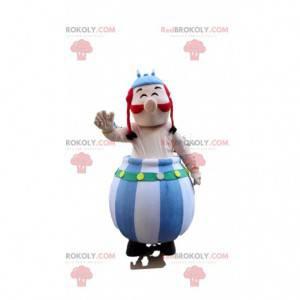 Mascot of Obelix, the famous Gallic comic strip Asterix and
