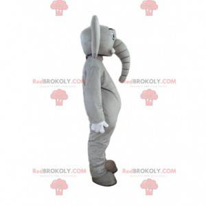 Costume da elefante personalizzabile, mascotte pachiderma -