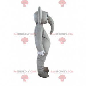Traje de elefante personalizável, mascote do paquiderme -