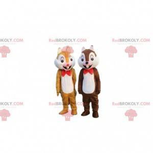 Tic and Tac costumes, famous cartoon squirrels - Redbrokoly.com