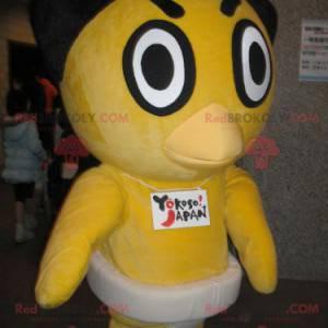 Žlutá kachna kuřátko maskot - Redbrokoly.com