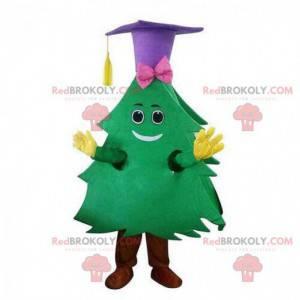 Fantasia de árvore de Natal, mascote gigante da árvore de Natal