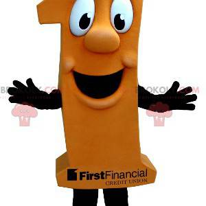 Mascot figure an orange - Redbrokoly.com