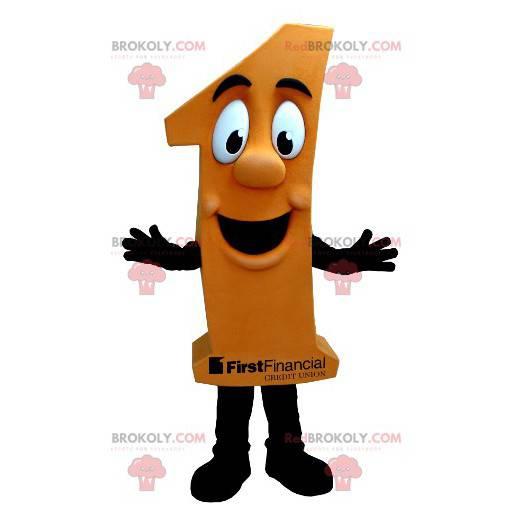 Maskottchenfigur eine Orange - Redbrokoly.com