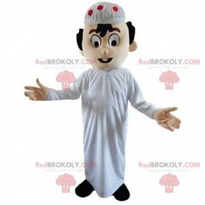 Orientální muž maskot, Maghrebian kostým, muslim -