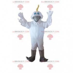 Kostým bílého ptáka, volavka, kostým Racek - Redbrokoly.com