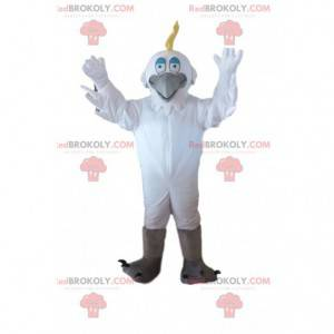 White bird costume, egret, seagull costume - Redbrokoly.com