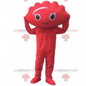 Mascote Jiaozi, Gyoza, ravioli chinês vermelho - Redbrokoly.com