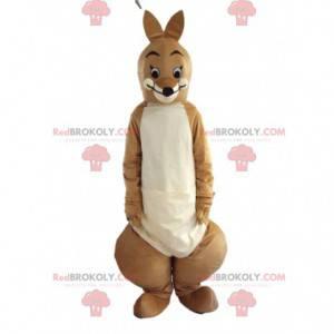 Fantasia de canguru marrom, fantasia de canguru gigante -