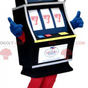 Mascota de la máquina tragamonedas de casino - Redbrokoly.com