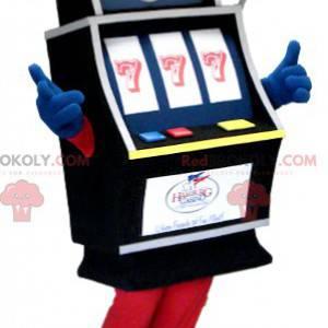 Mascote da slot machine de casino - Redbrokoly.com