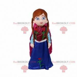 "Mascot Princess Anna in ""The Snow Queen"" - Redbrokoly.com"