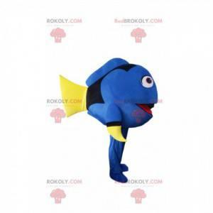 Mascote Dory, o famoso peixe cirurgião dos desenhos animados -